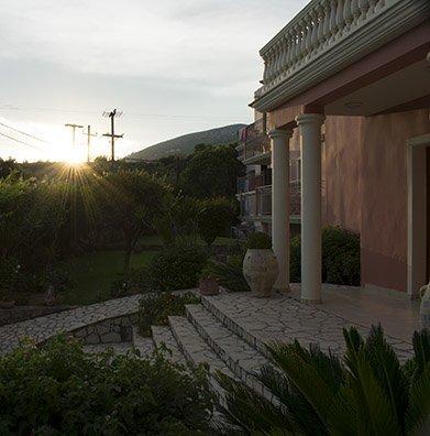 Sunset in Skala Kefalonia | Melidron Hotel