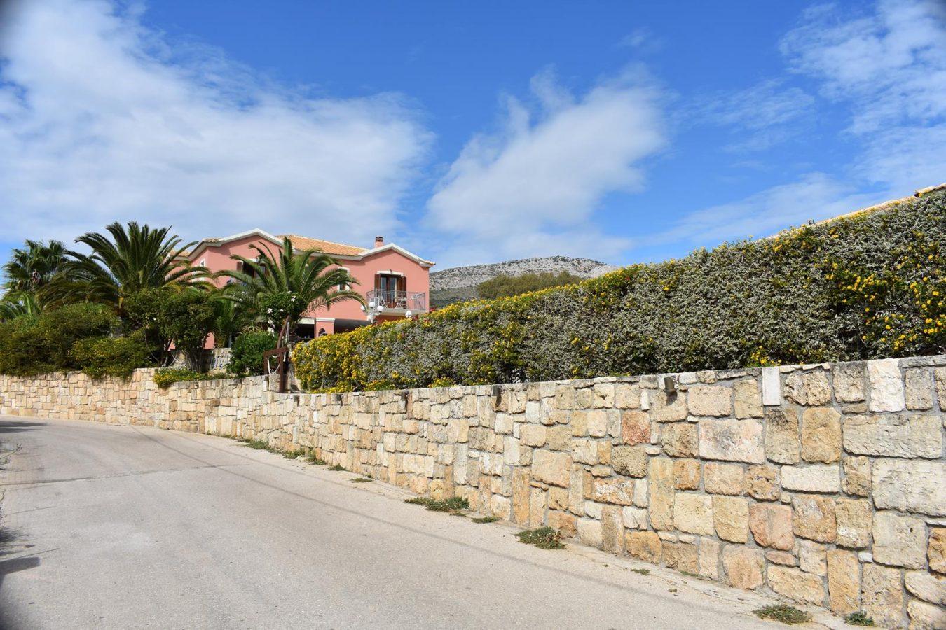 Exterior Road in Skala Kefalonia - Melidron Hotel Kefalonia