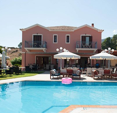 pool in Skala Kefalonia | Melidron Hotel